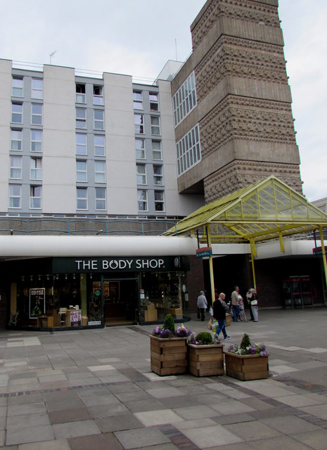 The Body Shop, 9 Monmouth Square, Cwmbran Shopping Centre