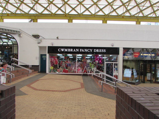 Cwmbran Fancy Dress shop in Cwmbran Shopping Centre