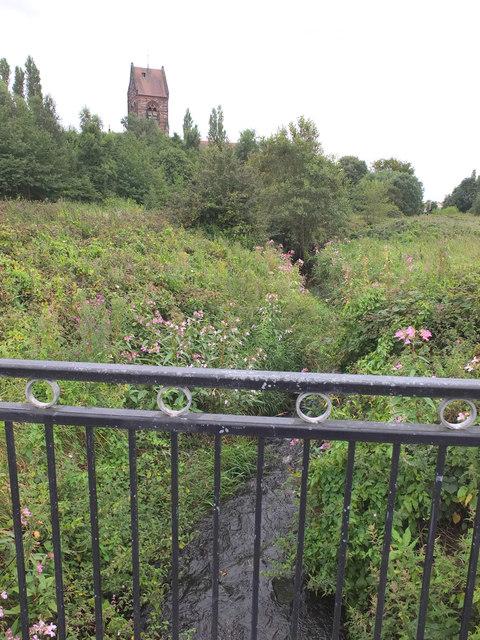 Kirkby Brook in Millbrook Park