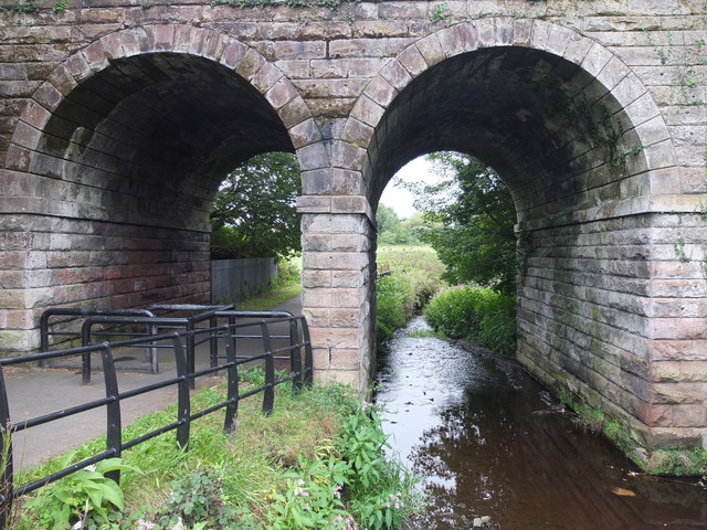 Mill Bridge over Mill Brook at Boyes Brow, Kirkby