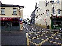 H4472 : Box junction, John Street, Omagh by Kenneth  Allen
