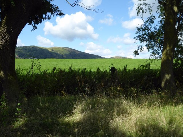 A glimpse of the Worcestershire Beacon