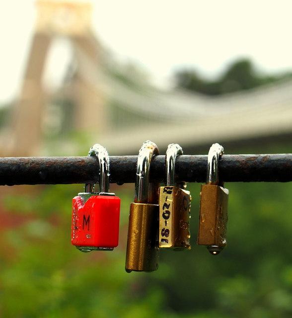 Love Locks at Clifton
