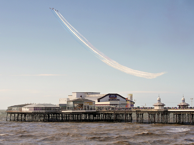 Airshow over North Pier