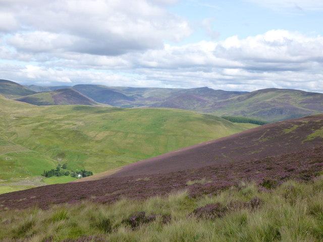Carn an Fhidhleir from Mount Blair