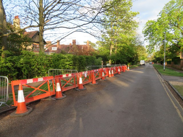 Work in Chaucer Road