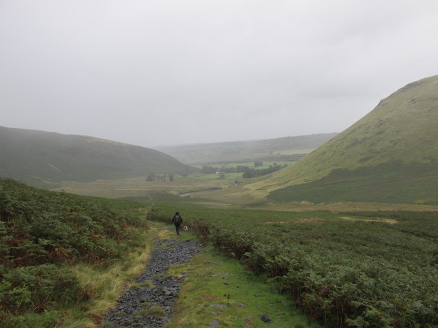 The path to Mungrisdale.