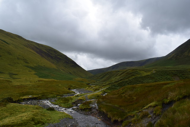 The river Glenderamakin.