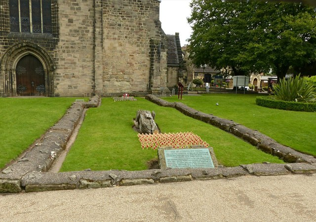Foundations of St Bertelin's Chapel, Stafford