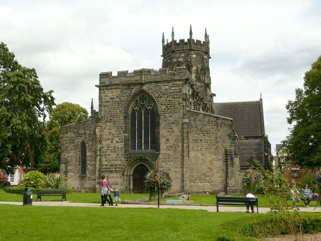 Collegiate Church of St Mary, Stafford