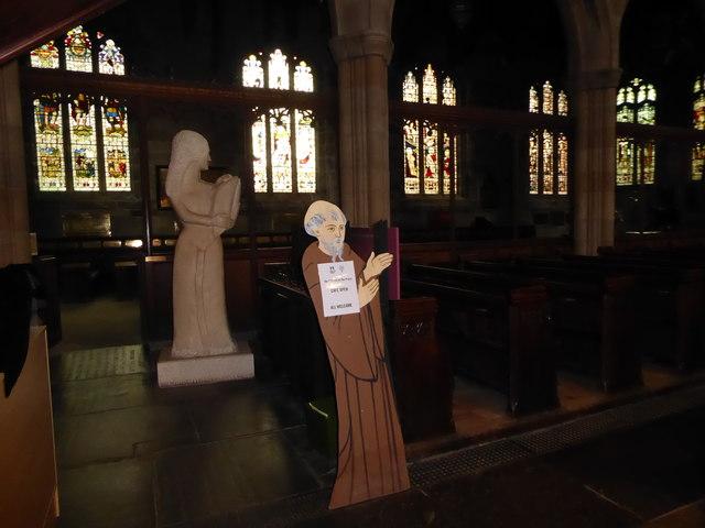 Inside Lancaster Priory (a)