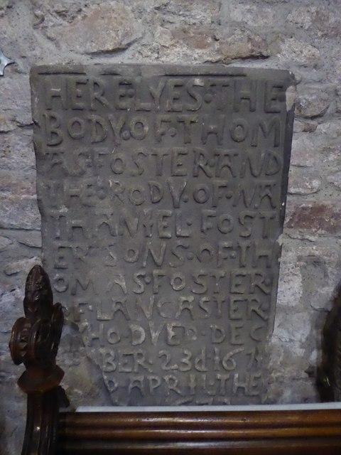 Inside Lancaster Priory (b)