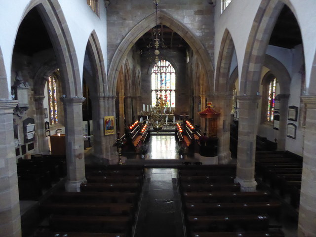 Inside Lancaster Priory (c)