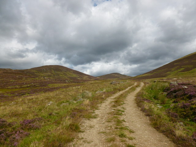 Moorland track by the Fergus Burn