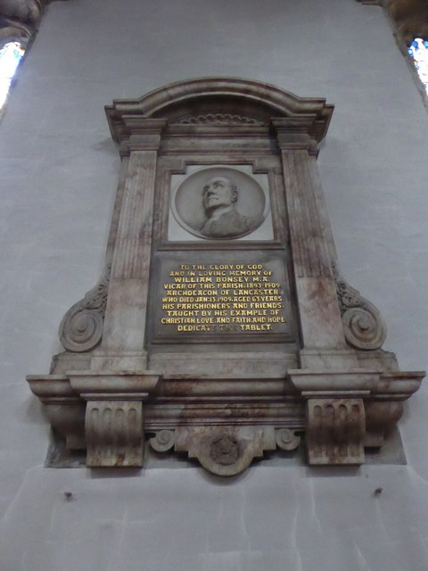 Lancaster Priory: memorial (1)
