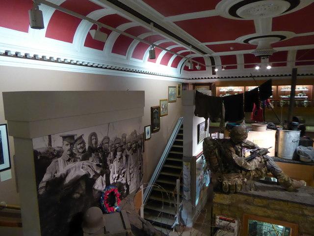 Inside Lancaster Museum (A)