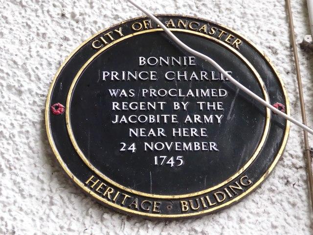Plaque in the Market Square