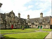 SJ9223 : Noel's Almshouses, Stafford by Alan Murray-Rust