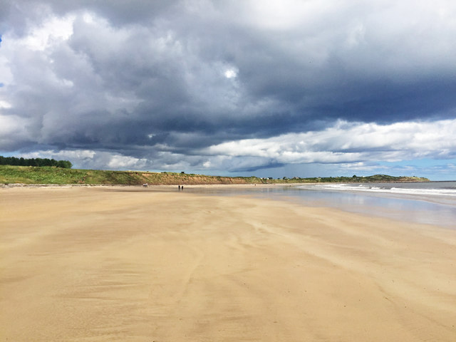 The Northumberland Coast Path south of Seaton