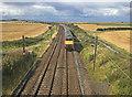 NU0840 : The East Coast Main Line at Fenham by John Allan