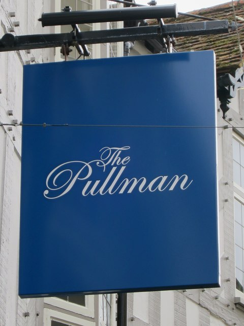 The Pullman sign