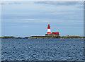NU2438 : Longstone Light by John Allan