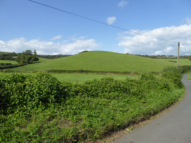 Hill north of Grove Farm