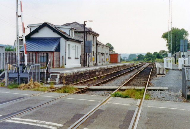 Llandovery station, 1992
