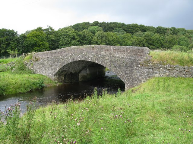 Greenockmains Bridge, east of Sorn