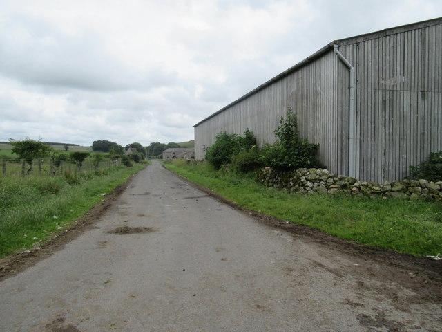 Road to Reaveley Farm