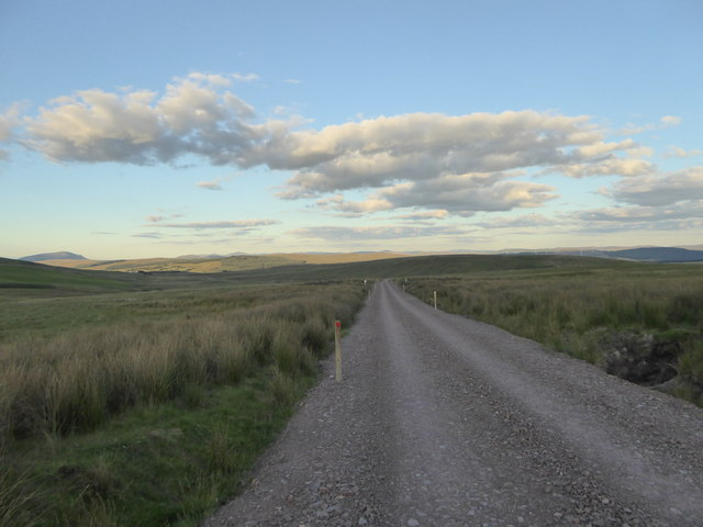 New access track, Galawhistle Wind Farm