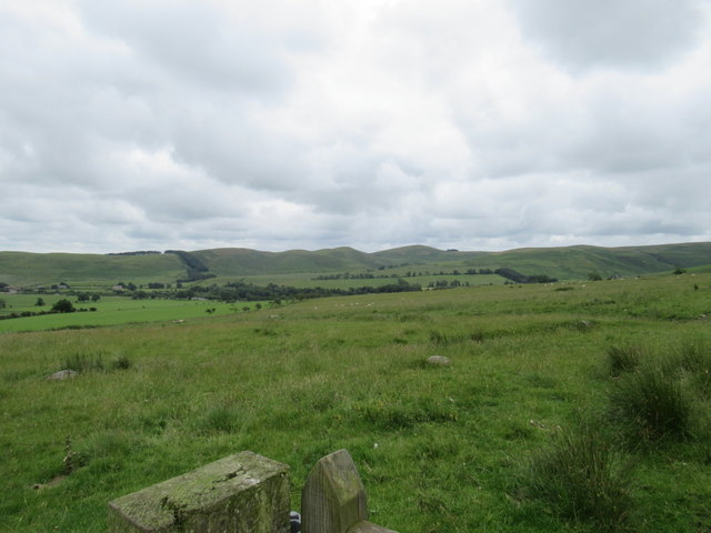 View from Reaveley Hill