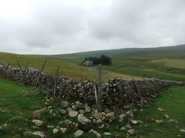 Corner on the Pennine Way
