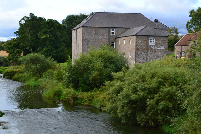 Heatherslaw Mill, by the River Till