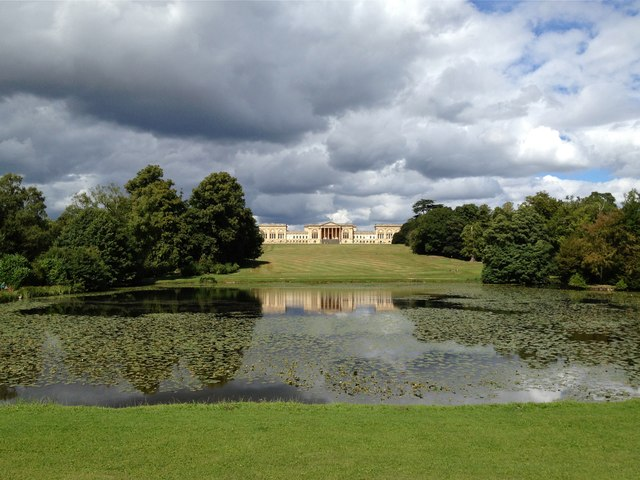 Stowe House across Octagon Lake