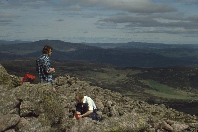 Summit, Mount Keen