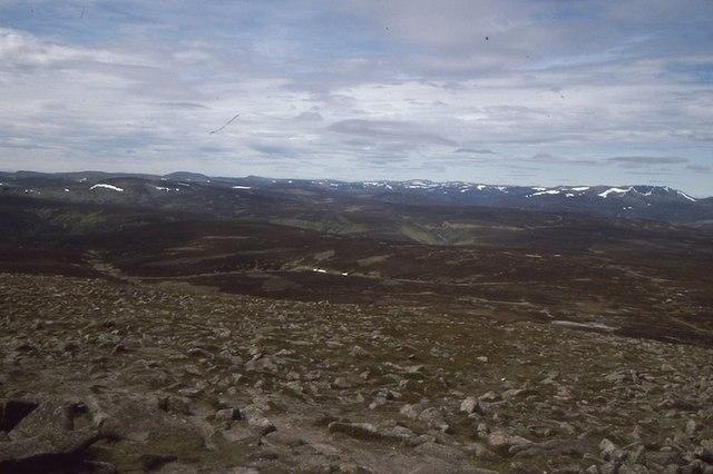 On Mount Keen