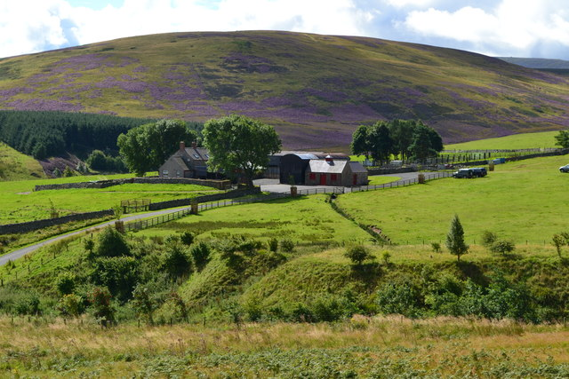 Commonburn House, with Great Moor beyond