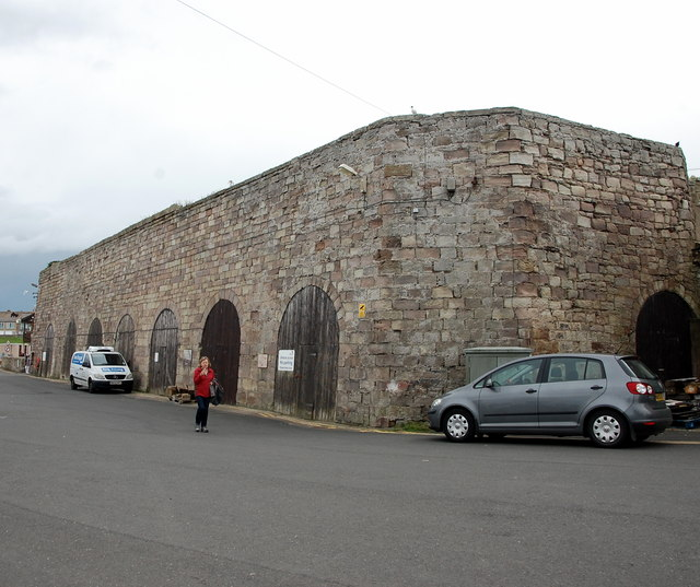 Former lime kilns, Seahouses Harbour