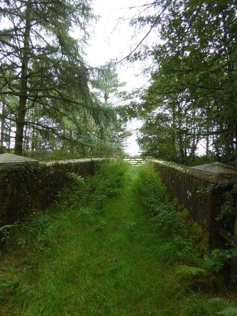 Bridge from West Bowerland Plantation to farmland