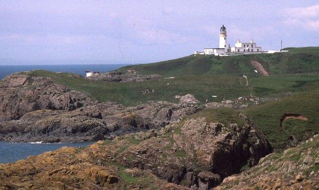 Killantringan Lighthouse, Black Head