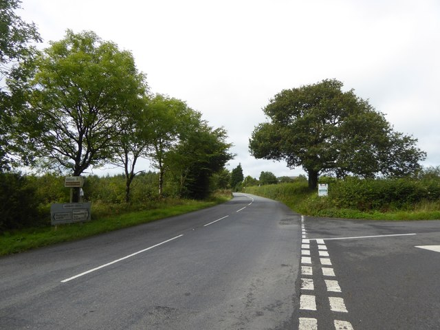 A3079 at Ashbury Cross