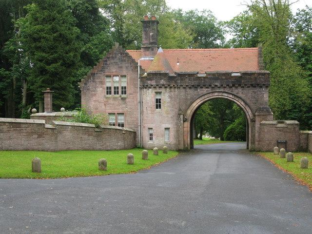 Upper Gate Lodge, Sorn Castle, Sorn