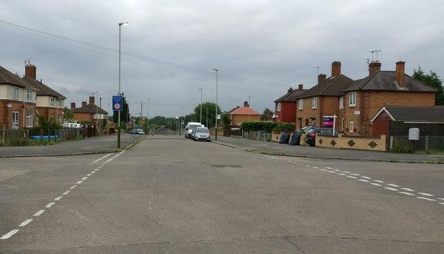 Gallards Hill in Braunstone, Leicester