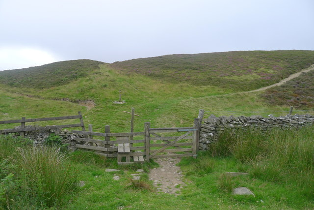 The Southern Upland Way at Four Lords Lands