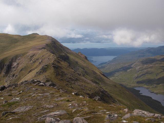 Ridge between Slioch and Sgurr an Tuill Bhain