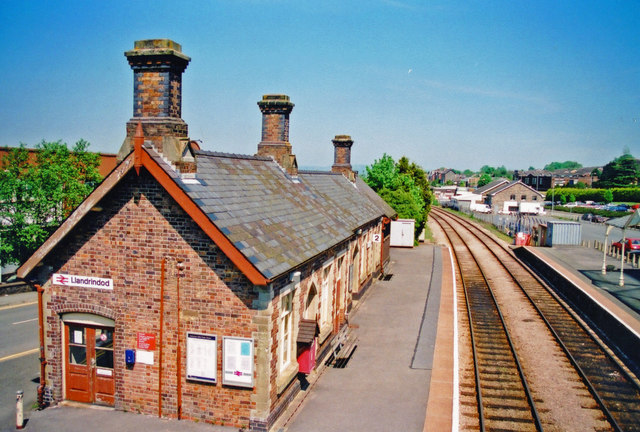 Llandrindod station, 2001