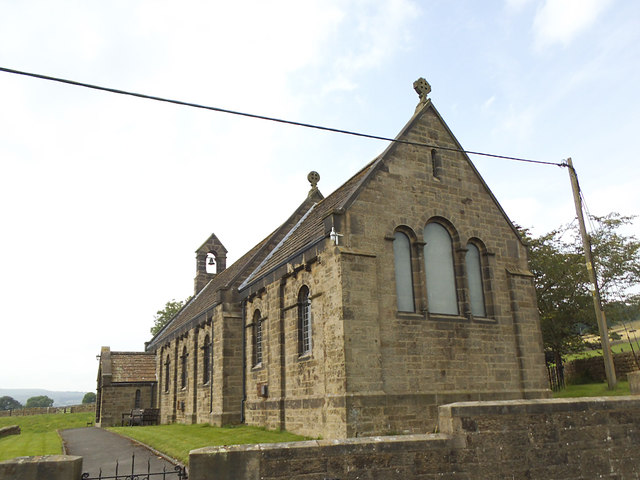 St Michael and All Angels, Wilsill - east end