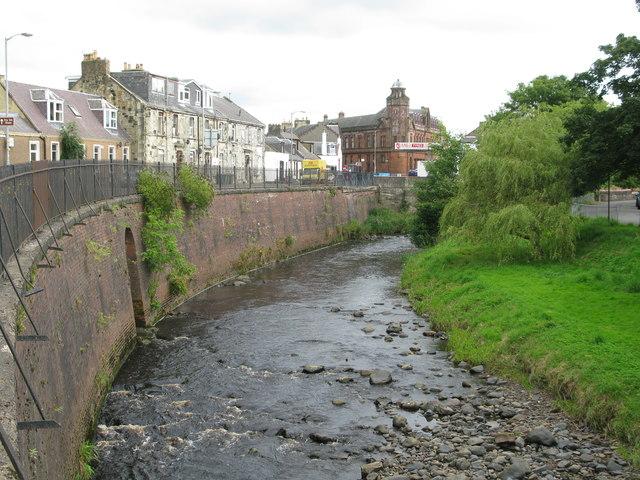 River Irvine at Newmilns
