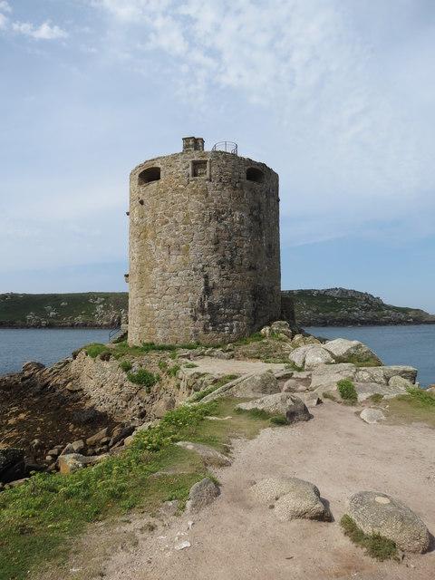 Cromwell's  Castle  built  1651  Tresco